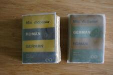 2 Wörterbücher Rumänisch - Deutsch / German - Roman - Mic Dictionar