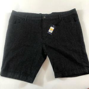 Lowes DBK Men's Black Shorts NWT Size 117cm W46 - Big Mens - Free Shipping