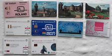 10 Stück A-Telefonkartensammlung (postfrisch, voll) Telekom 1991