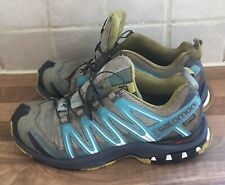 SALOMON Ladies  Xa Pro 3D Trail Running Shoes Gore-tex-Size UK 6.5 Eu 40