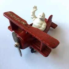 Cast Iron Michelin Tyre Man on Red Plane Man Cave Bar Pub Club Garage