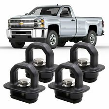 4X Car accessories Tie Down Anchor Truck Bed Side Wall Anchors Pickup GMC Chevy