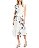Vince Camuto Ladies Floral Vines Dress 10, Pearl Ivory