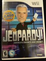 Jeopardy (Nintendo Wii, 2010) with instruction manual (CB215) FREE SHIP