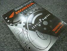 2008 2009 Honda TRX680FA TRX680FGA Four Trax Rincon ATV Service Repair Manual