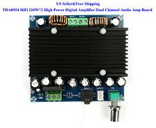 US TDA8954 HiFi 210W*2 High Power Digital Amplifier Dual Channel Audio Amp Board