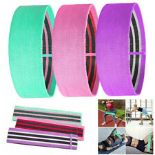 New listing Fabric Resistance Bands Loop Yoga Pull Up Exercise Fitness Strength Gym Non Slip