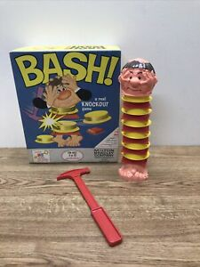 Vintage 1965 • Milton Bradley • BASH Knockout Game • 100% Complete