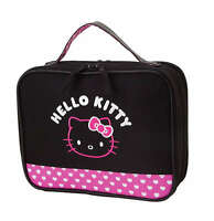 NEW AUTHENTIC SANRIO HELLO KITTY BALCK PINK BABY DIAPER CARRY BAG POUCH