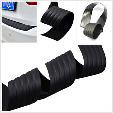 90x8cm Car Soft belt Rear Bumper Step Cover Trunk Pad Scuff Rubber Protector