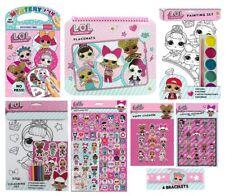 LOL Surprise! Colouring Activity Sticker Packs (Novelty Kids Birthday Gift Xmas)