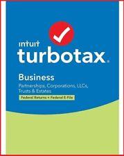 TurboTax Business 2020 Desktop Tax Software Pc Disc