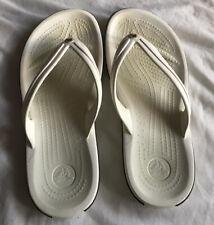 Unisex W=8, M=6 Crocs Flip Flop Style VGC