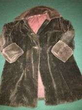 Antique child's velvet coat with silk lining.  Looks hand made.