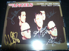 The Angels Caught In The Night Rare Signed Autographed CD Single – Like New