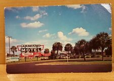 Vintage Postcard ~ West Gate Motel and Mobile Home Park ~ Perry, Florida