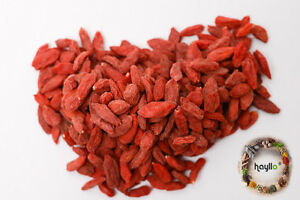 Hayllo Superfood Natural Sun Dried Goji Berries in Resealable Bag , 4 Ounces