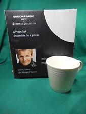 Gordon Ramsay by Royal Doulton Set of 4 Mugs  Maze NIB