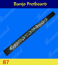 Free Shipping, Banjo Part - Rosewood Fretboard w/MOP Art Inlay (87)