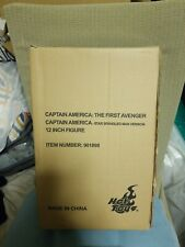 Hot Toys MMS205 Limited Edition Captain America Star Spangled Man Version NEW