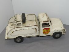 Vintage Buddy L Electric Emergency Unit Tow Truck Wrecker Metal Collectable