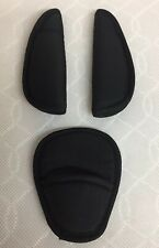 BABYSTYLE OYSTER 1, 2 & MAX Seat Harness Crotch Strap Pads Full Set Black