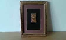Used - Stamp Gold Egyptian of 23 Carat Queen Nefertiti - Item for Colecctors