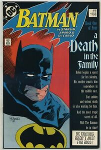 Batman 426 Death in the Family Begins High Grade