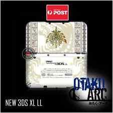 NEW 3DS XL Skin - Monster Hunter White - New Nintendo 3DS XL