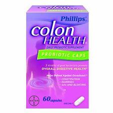 Phillips Colon Health Probiotic Caps 60 Caps (Pack of 2)