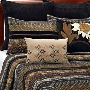 "Willow Euro Sham Black Velvet Quilted Square  26"" X 26"" Bed Bath & Beyond"