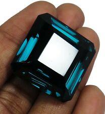 56.60 Ct Natural Brazil Blue Topaz Radiant Shape Loose Gemstone