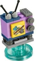 Official/Authentic Lego Simpsons Itchy & Scratchy TV Loose Mini Set