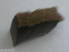 Pêche a la truite / Poils de chevreuil sur peau / sedge muddler mouche sèche ...