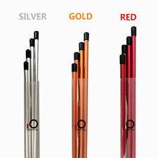Golf Alignment Sticks Swing Tour Training Aid Practice  Silver Orange Red Color