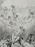 1984 Norman Lindsay IMPULSE TO DRAW w 293 PLATES 1st Hardcover EXPRESS free w/w