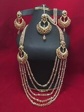 NWOT Beautiful Bridal Rani haar With High Quality champagne Crystal Bead