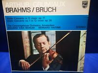 PHILIPS SAL 3526 *GRUMIAUX* BRAHMS /BRUCH VIOLIN CTOS* VAN BEINUM etc *NM