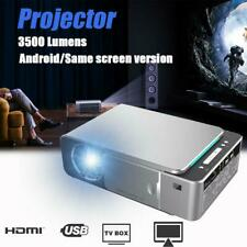 Portable T6 Home Projector Mini High Definition LED Android Version Projector