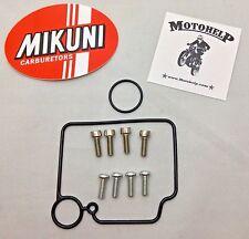 Genuine Mikuni HSR42 HSR45 HSR48 Float Bowl Gasket set w/ allen screws 616-94028
