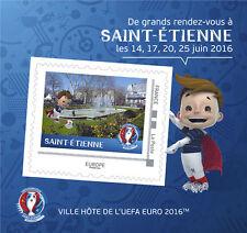 France 2016 - Collector - UEFA EURO 2016 - St Etienne mnh