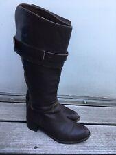 Hugo Boss Damen Stiefel dunkelbraun in Gr. 38