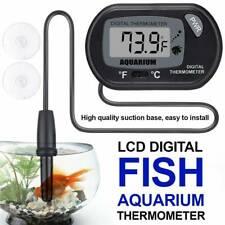 Hot! Lcd Digital Fish Tank Reptile Aquarium Water Meter Thermometer Temperature