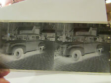 ancienne plaque verre stereo stereoscopique photo automobile voiture tacot R