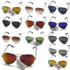 Gafas de sol aviador unisex moda RETRO años 80 calidad óptica hombre mujer