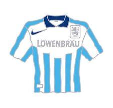 PIN + TSV 1860 München + Trikot 1996/1997 + LÖWENBRÄU + RAR + Sammler + NEU -15-