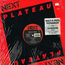 "SALT-N-PEPA expression + clubhouse U.S. NEXT PLATEAU 12""_1989 MINT"