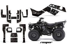 ATV Graphics Kit Quad Decal Sticker Wrap For Kawasaki Bayou 250 03-11 REAPER BLK