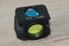Leica/LEITZ MICROSCOPIO Microscope FILTRO cubo k2 per fluorescenza (N. 513605)
