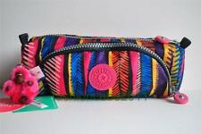 New With Tag Kipling Cute Pen Case / Make Up Bag- Neon Marker(monkey name Cindy